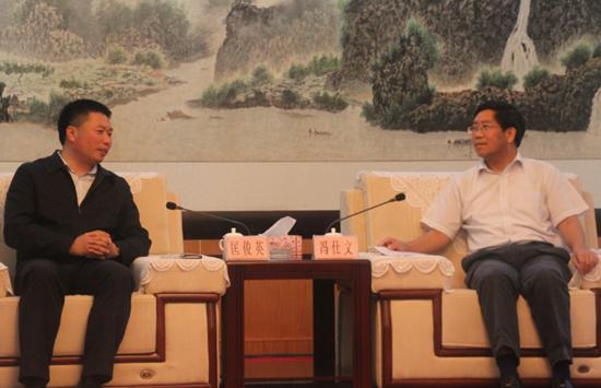 冯仕文:做活水文章,做强水产业
