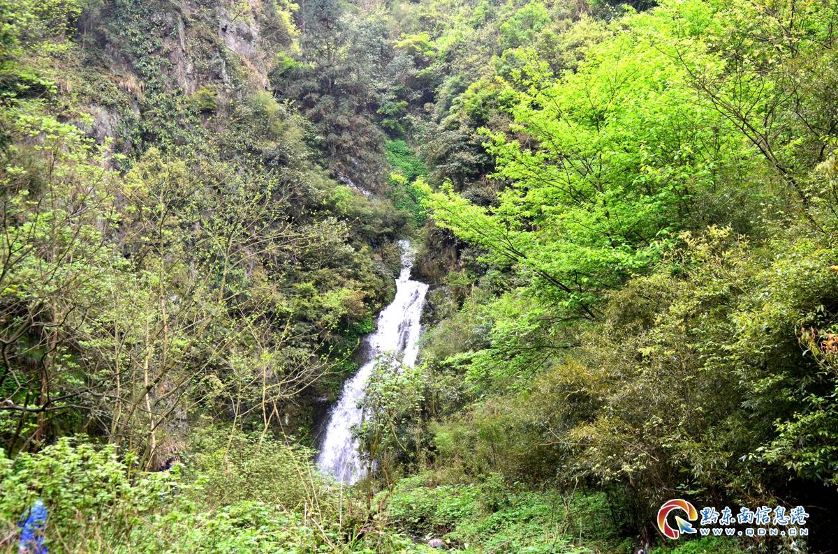 第一级瀑布远景