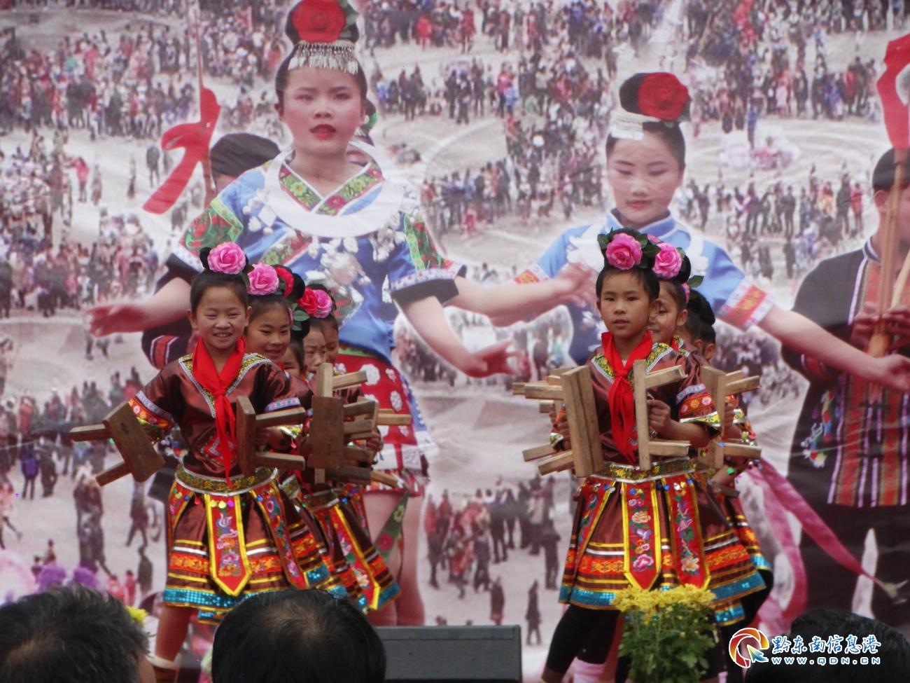 凯里市举办第二届民族文化进校园艺术节