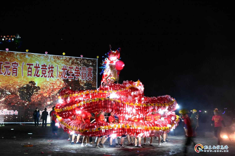 2017年2月10,贵州省台江县舞龙竞技 (8)