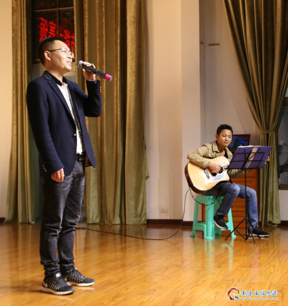 潘世泽演唱方言歌曲《我的家》